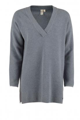Knit-ted | Gebreide trui Jolie | denim blauw