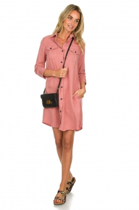 Knit-ted |  Blouse dress Verona | pink