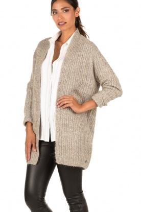 Knit-ted | Vest Audrey | groen