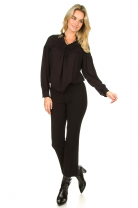 Look Trousers with rhinestones Allessandra