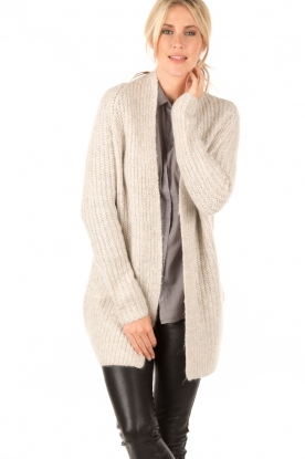 Knit-ted | Vest Audrey | naturel