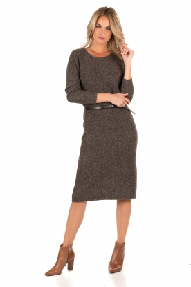 Knit-ted | Gebreide jurk Randy | hazel
