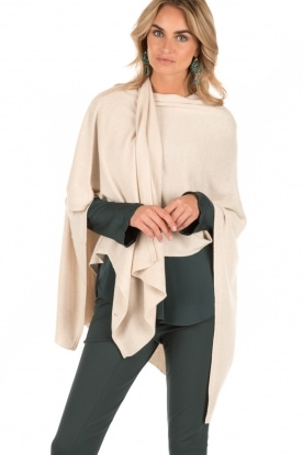 Knit-ted | Poncho Tara | naturel