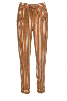 Knit-ted | Striped trousers Goia | multi