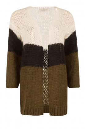 Knitted cardigan Anita | black