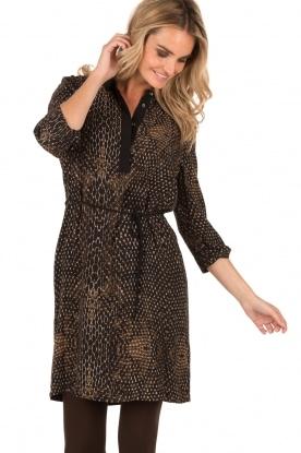 Tunic dress Ann | brown