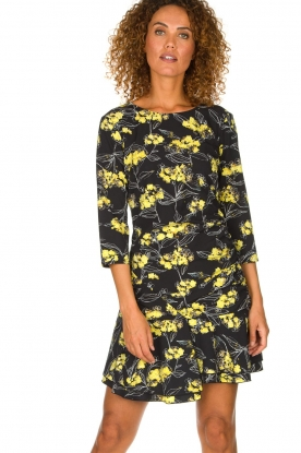 Patrizia Pepe |  Floral dress Bonnie | black