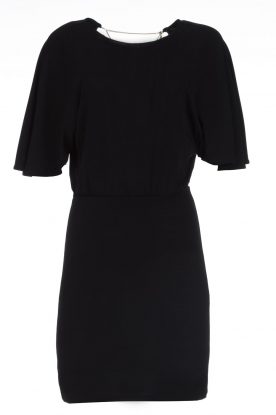 Patrizia Pepe |  Dress with open back Noe | black