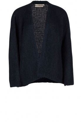Knitted cardigan Dylene | blue
