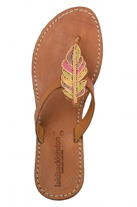 Laidback London | Leather sandals Baha | multi