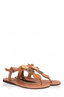 Laidback London | Leren sandalen Isko | multi