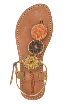 Laidback London |  Leather Sandals Isko | multi