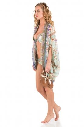 Camilla | Push-up bikini met Swarovski Casa | blauw