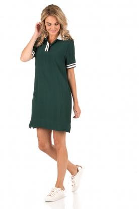 Polo dress Viana | green