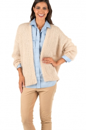 Knitted cardigan Dylene | natural