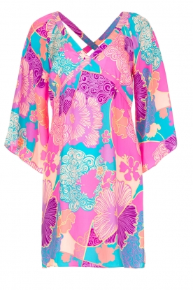 Alice & Trixie |  Dress Athena with tropical print | Pink