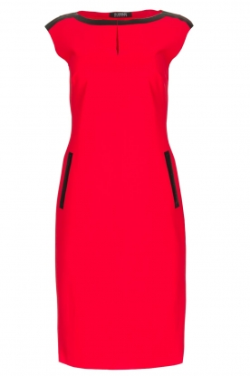 D-ETOILES CASIOPE |  Stretch dress Nadeche | Red