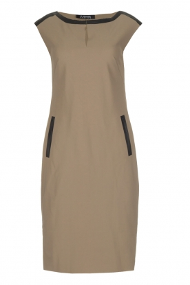 D-ETOILES CASIOPE | Stretch dress Nadeche | taupe