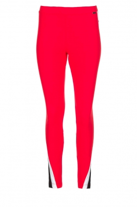 D-ETOILES CASIOPE | Stretch pants Narbonne | red