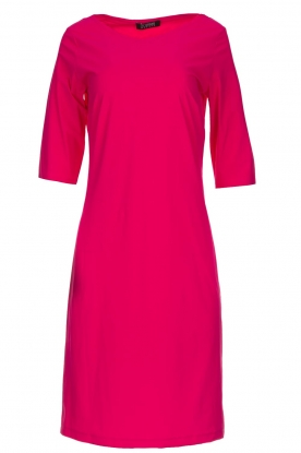 D-ETOILES CASIOPE |  Wrinkle free stretch dress Coco | pink