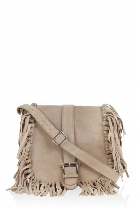 Suede shoulder bag Annable | brown