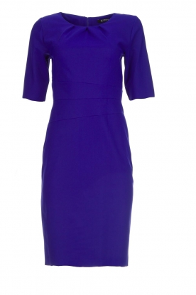 D-ETOILES CASIOPE |  Wrinkle free stretch dress Robby | purple