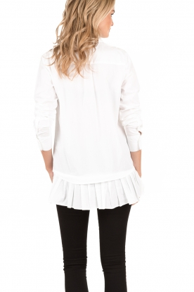 Amatør | Blouse Ruffles | wit