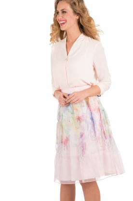Silk skirt Glenis | pink