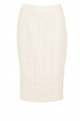 Ted Baker |  Pencil Skirt Serent | white