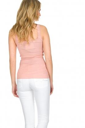 Rosemunde | Zijden top Babette | Roze