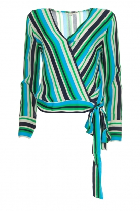 Kocca |  Striped blouse Norberto | multi