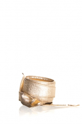 Kocca |  Metallic waist belt Goale | gold