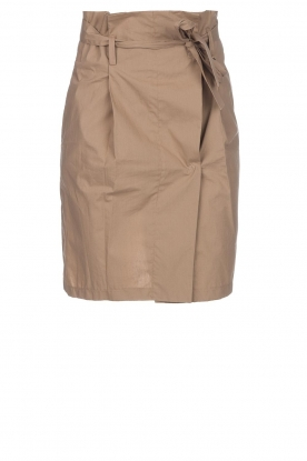Fracomina |Paperbag rok Flaire | beige