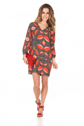 Essentiel Antwerp | Jurk Lispatch | print