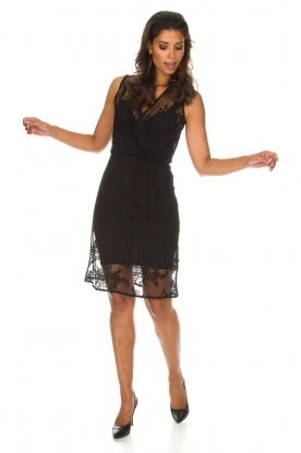 Rosemunde | Kanten jurk Emma | zwart