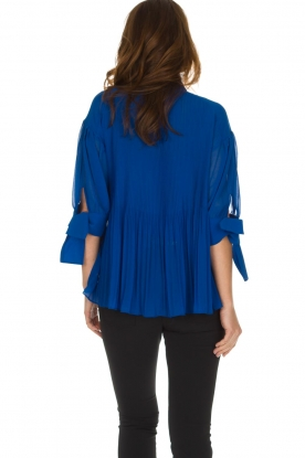 By Malene Birger | Blouse Platta | blauw