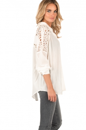 Blouse Ornella | Wit