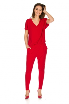 By Malene Birger |  Jumpsuit Edia | red