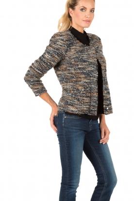 Boucl� jacket Molly | multi