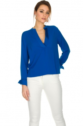 By Malene Birger | Blouse Alijara | blauw