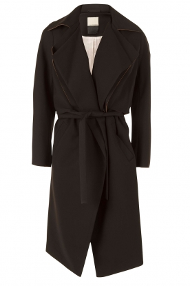 Trench coat Pasinios | black