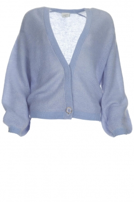 Dante 6 |  Knitted cardigan Sarina | blue