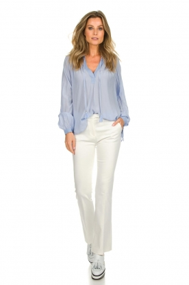 Dante 6 |  Flared trousers Weston | white