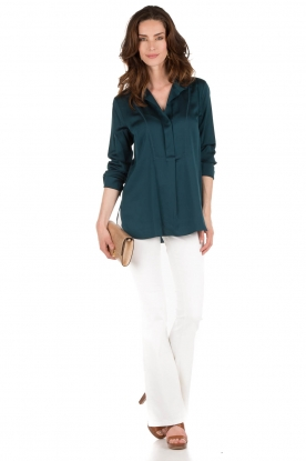 By Malene Birger | Blouse Bianka | blauw