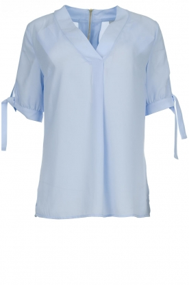 Dante 6 |  Top with bow sleeves Lana | blue