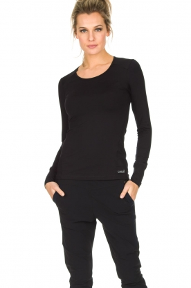 Casall |  Sports top Slim | black