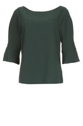 Dante 6 |  Top with trumpet sleeves Melia | green