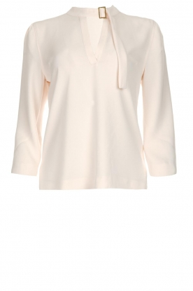 Dante 6 |  Blouse with buckle detail Yden | natural