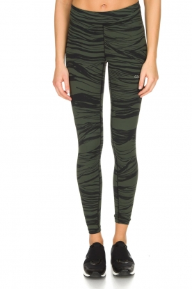 Casall |  Sport leggings Blush Wave | Green