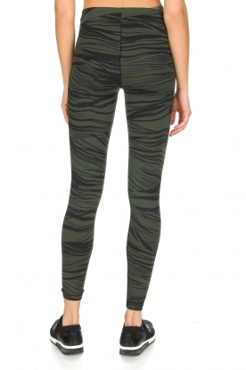Casall | Sportlegging Blush Wave | Groen
